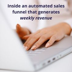 Want to generate a more consistent flow of leads and sales? Here's what an automated sales funnel that generates weekly revenue looks like. Content Marketing Strategy, Marketing Communications, Marketing Ideas, Email Marketing, Digital Marketing, Business Storytelling, Storytelling Techniques, Business Stories, Business Look