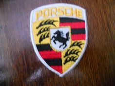 Porsche iron on patch by Silly67 on Etsy, €4.00