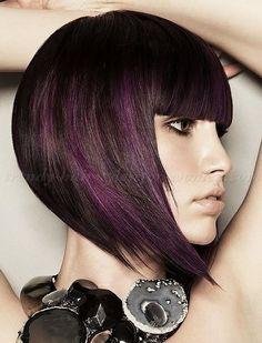 peek through assymetrical short hair cuts - Google Search