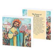The Prayer of St. Jude Tabletop Plaque from Artist Jen Norton for Dickson's Gifts