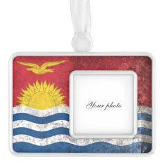 Shop Kiribati Christmas Ornament created by alenasb. Wedding Invitation Wording, Invitation Cards, Kiribati Flag, Custom Banners, National Flag, Activity Games, Dog Bowtie, Holiday Festival, Baby Shower Games