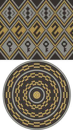 Wayuu Mochilla Bag Chart 54 - Bag and Purse Mochila Crochet, Bag Crochet, Crochet Shell Stitch, Crochet Purses, Crochet Chart, Filet Crochet, Bag Pattern Free, Tote Pattern, Purse Patterns