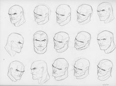 This is the first hundred comic style heads. Of course I went with the main man himself Jim Lee. I figured this would ...