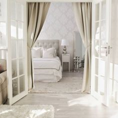 White amp beige in bedroombedroom makuuhuone sovrum myhome placetobe whiteinterior