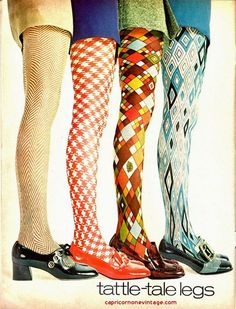 Rhonda's Creative Life: Monday Morning Inspiration. Such colorful tights!