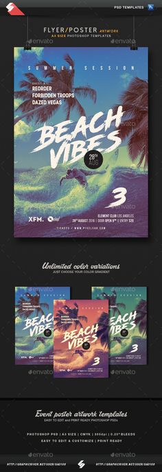 Minimatica  Minimal Party Flyer  Poster Template A  Party