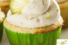 bloemloze citroencupcakes