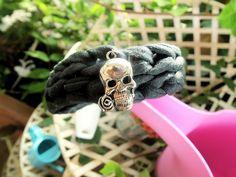 Rockish skull bracelet