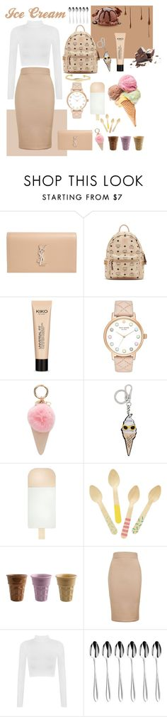"""Ice Cream "" by fentys ❤ liked on Polyvore featuring Yves Saint Laurent, MCM, Kate Spade, Iphoria, Karl Lagerfeld, Topshop, WearAll, Sophie Conran and Sole Society"
