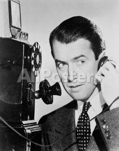 James Stewart Movies Photo - 28 x 36 cm