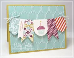 Krista's Stamp Spot: Patterned Occasions