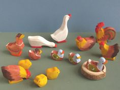 Anna's Poultry Waldorf Toys | Peace Fleece