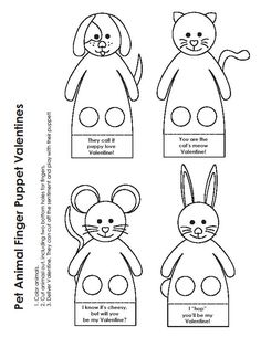 Você pode fazer os dedoches de animais que você quiser para colocar a imaginação de suas crianças para trabalhar a todo o vapor. Dicas ...
