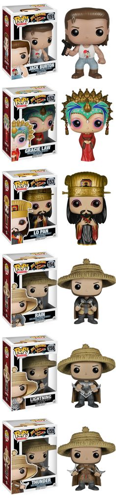 "BIG TROUBLE IN LITTLE CHINA Funko Pop! Figures ""I'm not saying that I've been everywhere and I've done everything, but I do know it's a pretty amazing planet we live on here…"" Read More: http://geektyrant.com/news/big-trouble-in-little-china-funko-pop-figures"