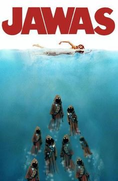 Star Wars / Jaws meme