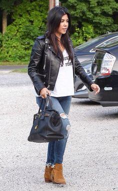 Kourtney Kardashian lunch in The Hamptons June 11 2014