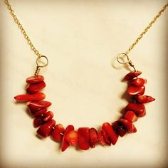 A personal favorite from my Etsy shop https://www.etsy.com/listing/474819765/red-coral-horseshoe