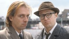 The sitcom Bottom was one of the fruits of Mayall and Edmondson's long comedy partnership