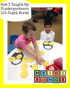 Heidi Songs How I Taught My Kindergartners 125 Sight Words Pot of Gold Activity.jpg