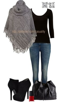 """""""Dark Sleek"""" by casuality on Polyvore"""