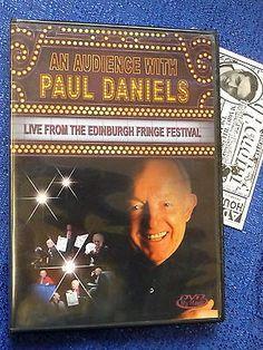 PAUL DANIELS  DVD AUDIENCE WITH LIVE FROM EDINBURGH FRINGE FESTIVAL DVD MAGIC Collectibles:Fantasy, Mythical & Magic:Magic:Tricks www.webrummage.com $24.99