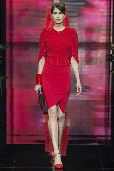 Giorgio Armani Prive Autumn/Winter 2014-15 Couture***************fab