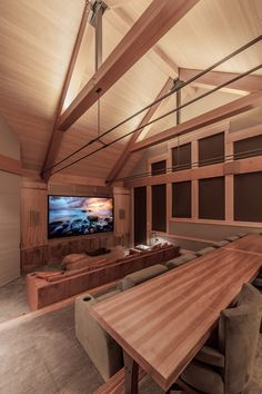 Cove Lighting, Lighting Design, Wood Truss, Residential Lighting, Wood Detail, Wood Ceilings, Ranch Style, Commercial Interiors, Outdoor Rooms