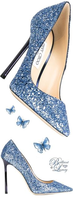 Brilliant Luxury by Emmy DE ♦ Jimmy Choo 'Romy' Pumps