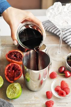Black Cherry Martini