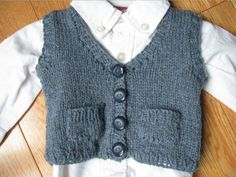 """Baby Grandpa Sweater Vest 