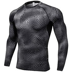 Queerier Men s 3 Pack Compression Shirts Long Sleeve Thermal Baselayer  Coldgeat Running Shirts Review Hiking Shirts a1c63836d
