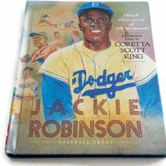 Vintage Jackie Robinson Book Baseball Great