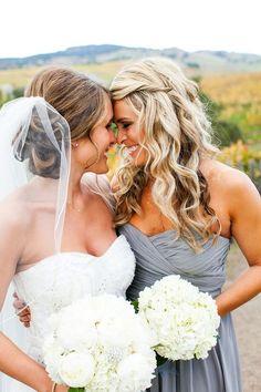 Bride and Bride's maid