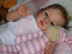reborn baby create by Andrea Melo at Babies Nest Nursery Portugal