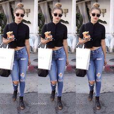 B A B E ✨ • • • • • • • @yolandahfoster @gigihadid #gigihadid #gigi #bella #bellahadid #anwarhadid #kendalljenner #kyliejenner #yolandafoster #model #fashion #chanel #gucci #vogue #fashion #beauty #makeup #hair #newmoon #sfs #f4f #follow4follow #ifollowback #followme #deadpool #yogurtland  #fattuesday  #naruto #nissan  #happyvalentinesday  #thankyoudanielbryan