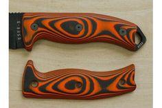 ESEE 5 & 6 Series Custom Sporting/Field Handle Kit, Tigerstripe G10