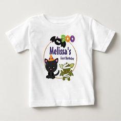 Halloween Birthday, Cute Halloween, Second Baby Announcements, Cute Illustration, Illustration Animals, Halloween Creatures, Stylish Baby, Cool Pets, Baby Shirts