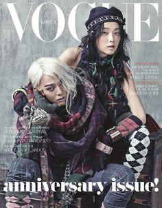 Big Bang G-Dragon - Vogue Magazine August Issue '13