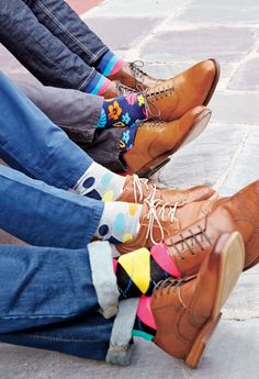 Happy Socks - Mens Fashion - Get Happy. Liven up your look with unexpected colors and prints.