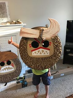 DIY Kakamora Coconut Costume for under $20 – Jackie Vest