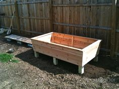 diy wood flower / garden box - Google Search