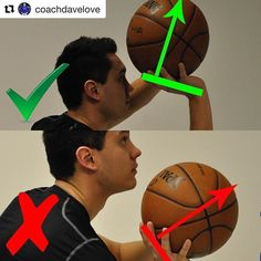 @coachdavelove Want to improve your arc? Focus on your set point. . The ball will go in the opposite direction of where your hand is on the ball. If you want the ball going up you need your hand under the ball. It will be much easier to do this if you are able to look under the ball at your set point. . If you are trying to look over top of the ball then it is much harder to get your hand under the ball and you'll end up pushing the ball forward. . Two little reminders... . 1 You don't have