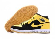 http://www.yesnike.com/big-discount-66-off-chaussures-air-jordan-retro-1-en-jaune-noir.html BIG DISCOUNT! 66% OFF! CHAUSSURES AIR JORDAN RETRO 1 EN JAUNE/NOIR Only 75.05€ , Free Shipping!