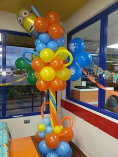 decoración con globos