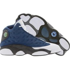 check out ff6d3 e0fa8 Air Jordan 13 XIII Retro french blue university blue flint grey white  414574 401 414571 401 and other apparel, accessories and trends.
