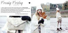 Una collaborazione alla quale sono molto affezionata è quella con la fantastica #fashionblogger Sabrina Musco.  http://www.freakyfridayblog.com/2014/12/outfit-inverno-2015-total-white-o-quasi.html  COMPLIMENTI E DI NUOVO GRAZIE DI CUORE <3 @freakyfridays
