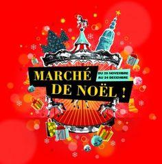 Marché de Noël de la vIlle de Nantes