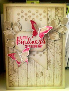 Kinda Eclectic with the Banner Framelits - Julies Japes  Stampin' Up!