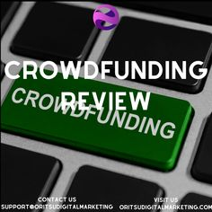 Crowdfunding is a method of raising capital through the collective effort of friends, family, customers, and individual investors. This method of raising funds is getting popular with every single day. There are people who have raised millions just from crowdfunding.  3 biggest advantages of crowdfunding –  You can test the market without even having to invest a very large amount of capital upfront  You don't have to dilute your equity to get funding  You get free brand exposure & trust Raising Capital, Raise Funds, Digital Marketing Services, Investors, Friends Family, Effort, Trust, How To Get, Popular