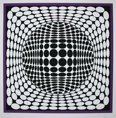 Vasarely Geometric Art